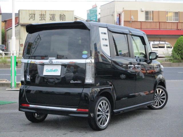 「ホンダ」「N-BOXカスタム」「軽自動車」「全国対応」の中古車5