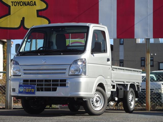 キャリイ(スズキ) KCエアコン・パワステ スズキ セーフティサポート 装着車 4WD 中古車画像