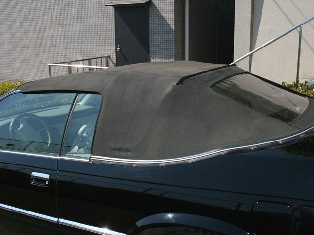 幌はブラックですが、お好きな色に張替え可能です。(別途料金)